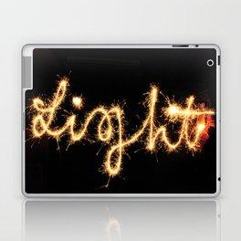 Sparkel Typography | Light Laptop & iPad Skin