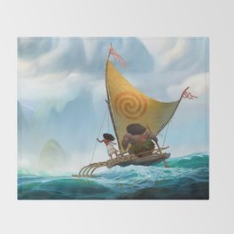 moana Throw Blanket