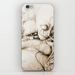 Visitation to the holiness || Mask || Holy || Snake iPhone Skin