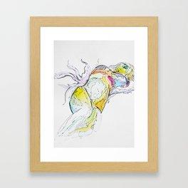 Lady Marmalade  Framed Art Print