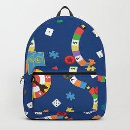 Board Game Pattern Backpack