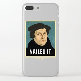Luther NAILED IT Clear iPhone Case