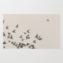 Bird and Birds Rug