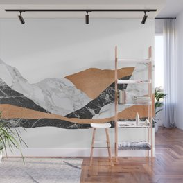 Marble Landscape I, Minimal Art Wall Mural
