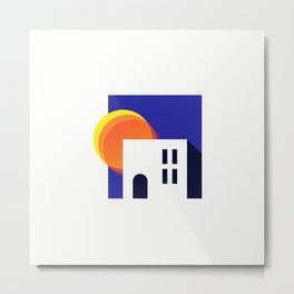 Summer House Metal Print
