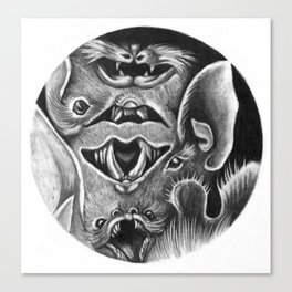 Bats II Canvas Print