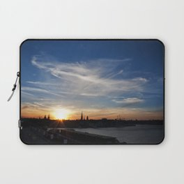 Stockholm sunset Laptop Sleeve
