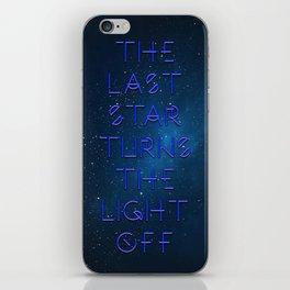 The last Star iPhone Skin
