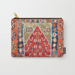 Bayburt Northeast Anatolian Niche Kilim Print Carry-All Pouch