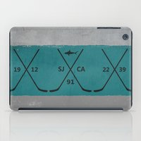 sharks iPad Cases featuring Sharks by Last Call