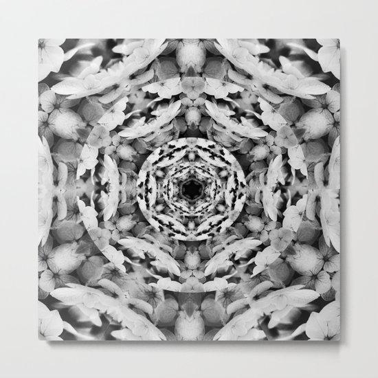 Noir et Blanc Metal Print
