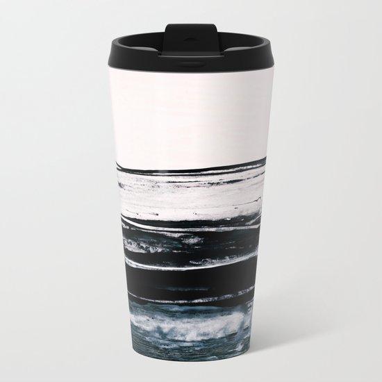 abstract minimalist landscape 9 Metal Travel Mug