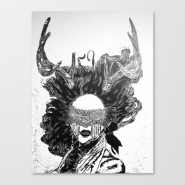 Poker Face Canvas Print