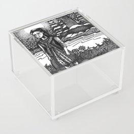 snow girl Acrylic Box