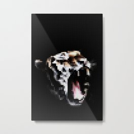 Tiger Star Metal Print