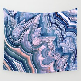 Agate ornaments Wall Tapestry