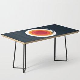 Space Vinyl Coffee Table