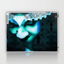 Beauty Looking Down Laptop & iPad Skin