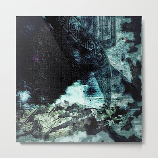 Shoved: Victoria - The Dweller in the Dark Metal Print