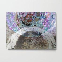 Garden Altar Metal Print