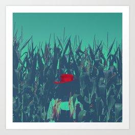Child's Rebellion Art Print