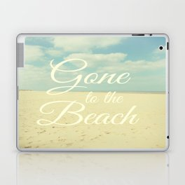 Gone To The Beach Laptop & iPad Skin