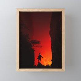 Zuko in the Valley Framed Mini Art Print