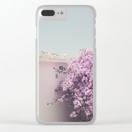 Holiday feelings Clear iPhone Case
