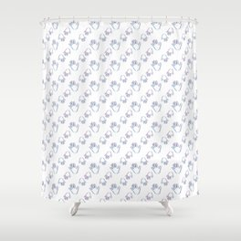 High Five Shower Curtain