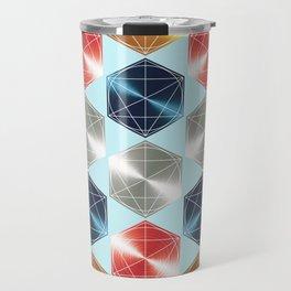 Minimalist Geometric Art Travel Mug