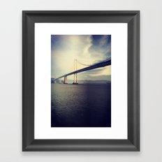 Bay Bridge! Framed Art Print