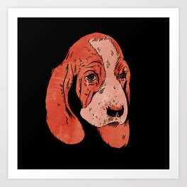 Sad Dogs Club Art Print