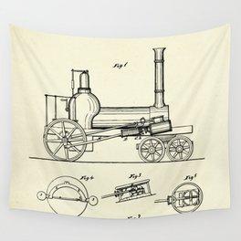 Locomotive-1837 Wall Tapestry