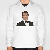 napoleon Hoodies featuring Napoleon Solo by Grace Teaney Art