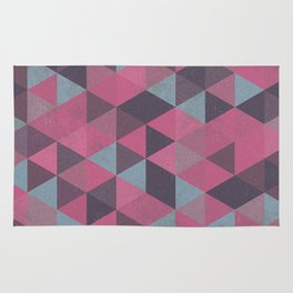 Abstract Triangles Rug