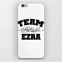 pretty little liars iPhone & iPod Skins featuring PLL - Team Ezra Pretty Little Liars by swiftstore