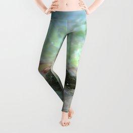 Aqua 5 Leggings