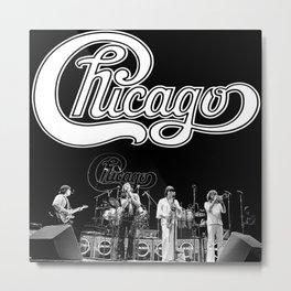 Chicago Band Metal Print