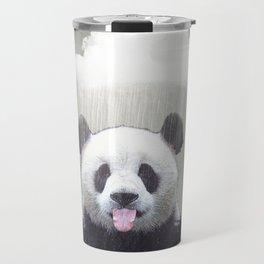 Panda Rain Travel Mug