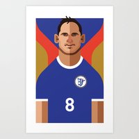 FL8 | The Blues Art Print