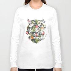 Tropical tiger Long Sleeve T-shirt
