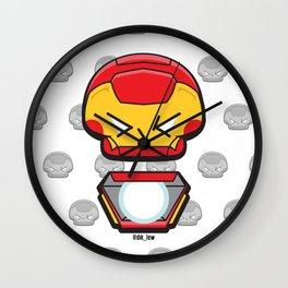 Iron Tony Art Wall Clock