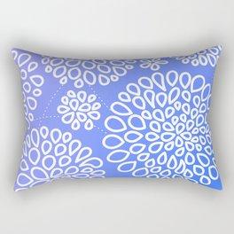 Periwinkle blue or purple Rectangular Pillow