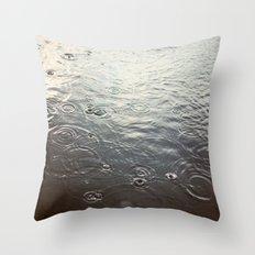 Raindrop #1 Throw Pillow