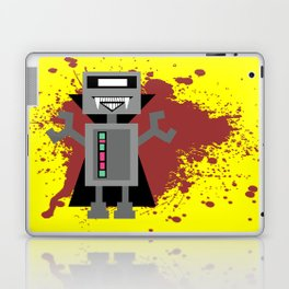 Vampire Robot - Yellow Laptop & iPad Skin