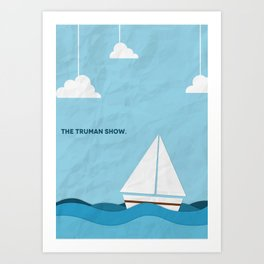 The Truman Show Minimalist Poster Art Print