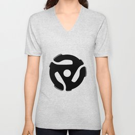 Record Spider Unisex V-Neck