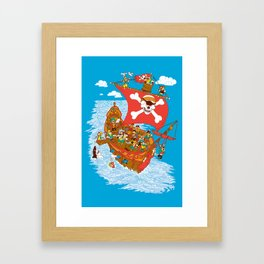 Why Cyclops Should Never Be Pirates Framed Art Print