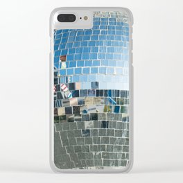 Mirrors discoball Clear iPhone Case