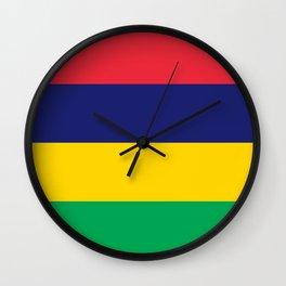 Flag of Mauritius Wall Clock